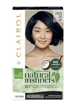 Clairol Natural Instincts Hair Color #2BB BLUE BLACK - New & Improved - $12.96