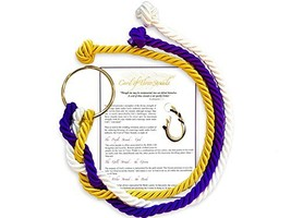 A Stunning Cord of Three Strands Wedding Knot with Ceremony Card by Wedd... - $41.67