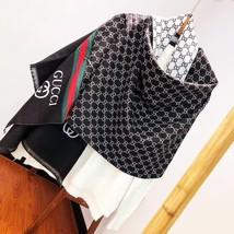 Unisex Black and Brown Cashmere Blend Scarf,Long Scarves 180*70cm G1068 - $16.99