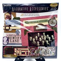 700 Pre-Cut Heritage Accents Vintage Scrapbooking Kit - $27.72