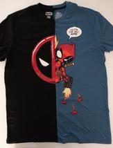 Deadpool Logo Split Marvel Comics T-Shirt - $20.75+