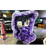 SPINNING AMETHYST STEEL STAND GEODE FROM BRAZIL CRYSTAL QUARTZ MINERAL ROCK - $49,000.00