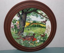 "WEDGWOOD COLIN NEWMAN'S ""MEADOWS AND WHEATFIELDS"" 1987 Dish/Framed - $11.39"