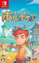 Game Source Kimi No Machi Portia For Nintendo Switch Region Free Japanese Versio - $49.68