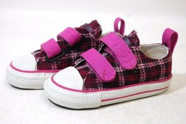 Converse All Star Chuck OX 726119F Catus Flower Baby Toddler Shoes - $29.95