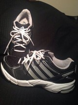 MEN'S ADIDAS RESPONSE CUSHION 19 RUNNING SHOES SZ 6.5M TRAINERS BLACK & ... - $49.49
