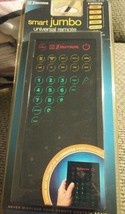 Emerson Smart Jumbo Remote Control Luminescent Touch Pad up to 8 Devices NIP - $29.00