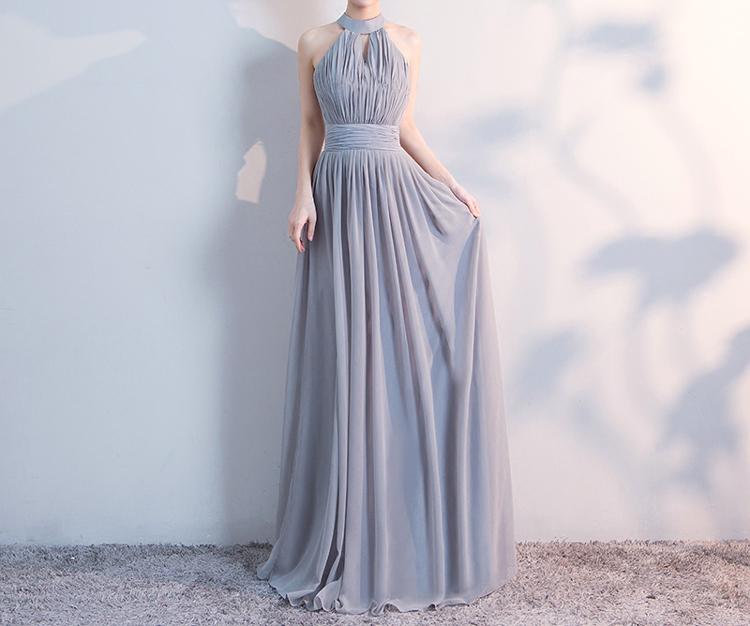 Gray bridesmaid dress 4