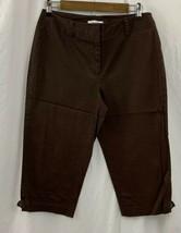 Dress Barn Capri Pants Brown Size 6 Casual/Work Wear - $12.34