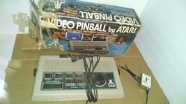 Atari Model: C-380 Pinball Video Game Console - Parts Or Repair - Box - $32.66