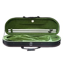 NEW Sky Violin Halfmoon Case VNCHM Lightweight with Hygrometer And Shoul... - $58.99