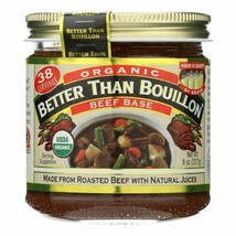 Better Than Bouillon Organic Seasoned - Beef Base - Case Of 6 - 8 Oz. - ... - $51.97