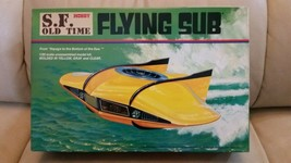 Rare Tsukuda S.F. Old Time Flying Sub Voyage to the Bottom of the Sea Mo... - $65.55