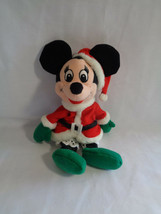 "Disney Mrs Clause Santa Minnie Mouse Bean Bag Plush Doll 8"" - $5.20"