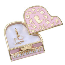 Disney store Japan Aristocats Marie Jewelry case accessory with piano ch... - $64.35
