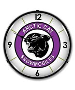 Arctic Cat Lighted Wall Clock - $129.95