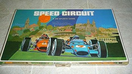 Speed Circuit Watkins Glen 1971 A 3M Sports Game Car Race Board Game Complete - $67.53