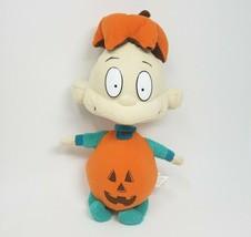 "14"" 2004 nanco rugrats tommy pickles halloween pumpkin plush animal toy - $36.10"