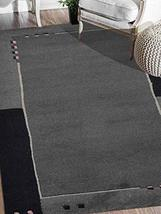 Rugsotic Carpets Hand Knotted Tibbati Wool 5' 7''x7' 10'' Area Rug Solid... - $336.00
