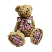 "Boyds Bears ""Bixby B Bear"" 30"" Poseable Plush Head Bean Heirloom Rare Li... - $199.99"