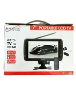 """Supersonic SC-195 7"""" Portable LCD TV w/ USB/SD/MMC/AV IN - $72.74"""