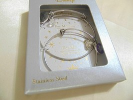 Disney 2-Pc. Set Mother and Child Princess Tiara Charm Bracelets F613 $75 - $43.20