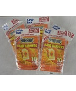 Hot Hands 10 Hour Hand Warmers 5 packs of Three Pair Ready to Use - $9.89