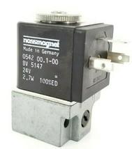 NASSMAGNET 0542-00.1-00 VALVE COIL BV-5147 24V 2,7W 100%ED image 2