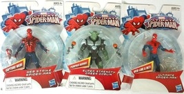 Marvel Ultimate Spiderman Web Strike and Ultimate Spiderman Green Globin - $23.36