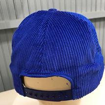 VTG Westinghouse Mod Serv Corduroy Snapback Made in USA Baseball Cap Hat image 3