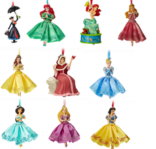 Disney Store Christmas Tree Sketchbook Ornament Belle Ariel Jasmine 2018... - $49.95+