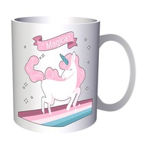 New Stars Cute Unicorn 11oz Mug m209 - $10.83