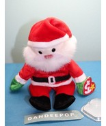 """TY Retired Beanie Baby Santa 1998 With Rare Code Tag 9"""" - $13.85"""