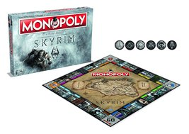 Skyrim Monopoly Board Game - $52.99