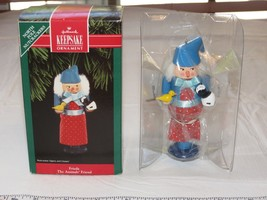 HALLMARK Keepsake Ornament 1992 Frieda The Animals' Friend NOS Nutcracker - $11.87