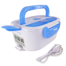 220V 12V Portable Electric Heating Lunch Box Food-Grade Food Container - $9.61+