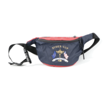 Vintage Ryder Cup The Belfry Stitched Spell Out Golf Waist Bag Fanny Pac... - $29.65