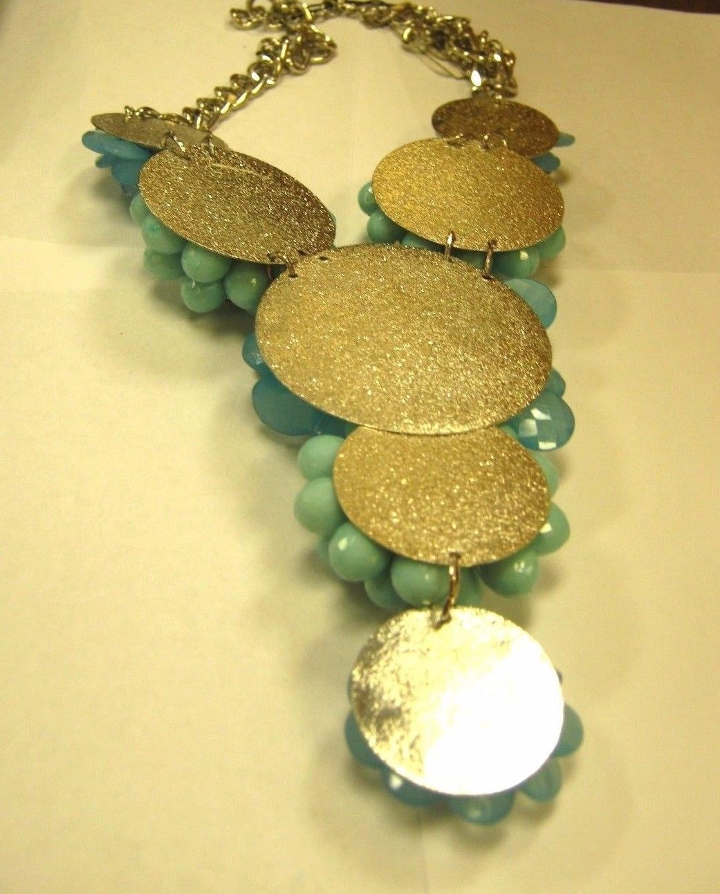SET Miriam Haskell made for INC marked INC necklace and  matching bracelet