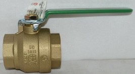 A Y McDonald 10710 Gas Ball Valve 2 Inch 4901 115 Non Potable Use image 1