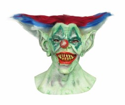 Outta Control Clown Latex Mask Horror Adult Halloween Costume Accessory - $26.65