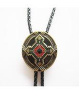Bolo Tie for Men Vintage Antique Bronze Keltic Celtic Cross Bolo Tie - $9.50
