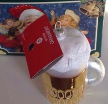 Nib Glass Christmas Ornament Mug Of Beer By Merck Old World Christmas, Box - $17.81