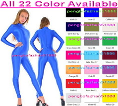 Sexy 23 Color Lycra Spandex Body Suit Catsuit Costumes No Head/Hand/Foot S982 - $32.99