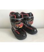 Disney Pixar Cars Movie  Insulated Winter Boots Toddler SZ 11 Lightning... - $19.80