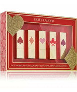 NIB ESTEE LAUDER LIMITED EDITION 5-PC ONE-OF-A-KIND PURE COLOR ENVY LIPS... - $62.36