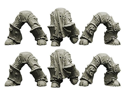 Spellcrow 28mm Conversion Bits Plague Legions: Knight Legs (Ver. 2)