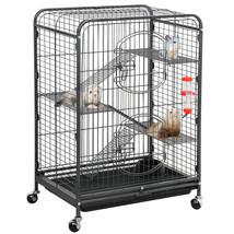 "Ferret Cage Rabbit Guinea Pig Chinchilla Rat Small Animal House 37"" 4 Le... - £100.08 GBP"