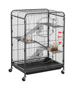 "Ferret Cage Rabbit Guinea Pig Chinchilla Rat Small Animal House 37"" 4 Le... - $140.00"