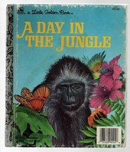 A Day in the Jungle - Pat Patterson - SC - 1985 - Little Golden Book  03... - $1.62