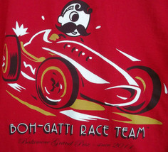 Inaugural Grand Prix Baltimore 2011 T Shirt Large Mr Boh Boh-Gatti Race Team - $49.49